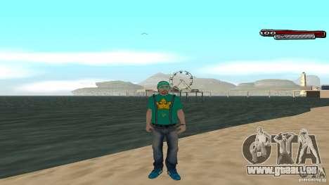 Skin Pack The Rifa Gang HD pour GTA San Andreas cinquième écran