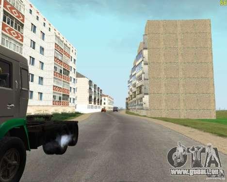 Un Busaevo pour le CD pour GTA San Andreas cinquième écran