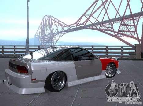 Nissan 240SX Tuned für GTA San Andreas rechten Ansicht