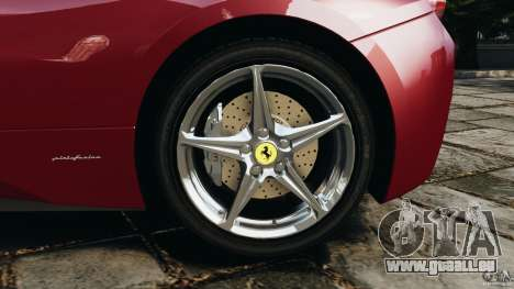 Ferrari 458 Italia 2010 v2.0 pour GTA 4 vue de dessus