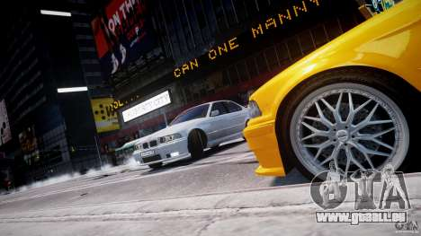 BMW 318i Light Tuning v1.1 pour GTA 4 roues