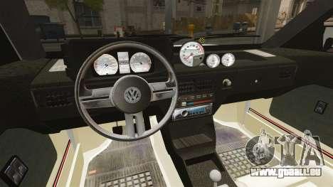 Volkswagen Saveiro 1990 Turbo pour GTA 4 est un côté