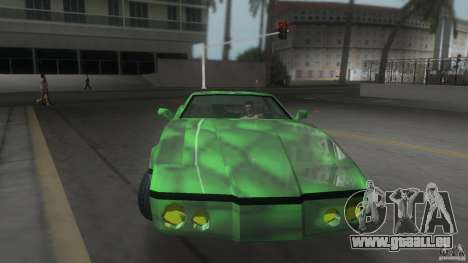 Reptilien banshee pour une vue GTA Vice City de la droite