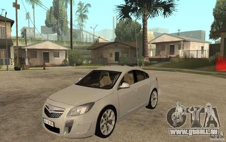Opel Insignia OPC 2010 für GTA San Andreas
