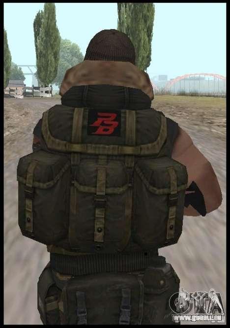 [Point Blank] Terrorist für GTA San Andreas dritten Screenshot