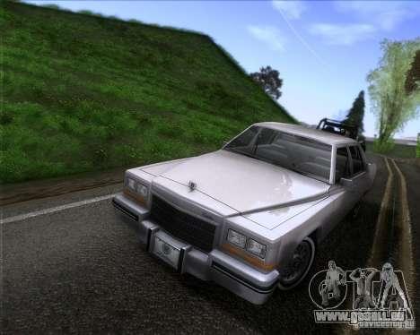 Cadillac Fleetwood Brougham 1985 pour GTA San Andreas
