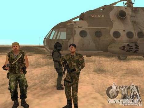 Commando soviétique pour GTA San Andreas quatrième écran