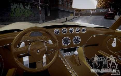Wiesmann MF3 Roadster Final pour GTA 4 est un droit