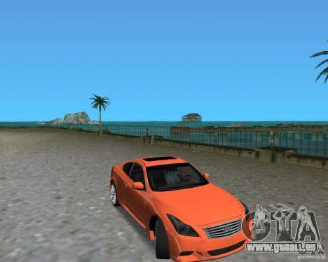 Infinity G37 für GTA Vice City