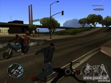 GTA IV TARGET SYSTEM 3.2 pour GTA San Andreas septième écran
