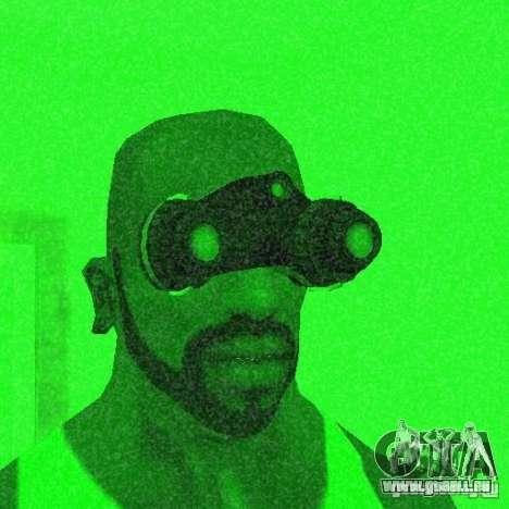 Goggles HD pour GTA San Andreas quatrième écran