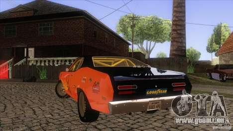 Plymouth Duster 440 pour GTA San Andreas moteur
