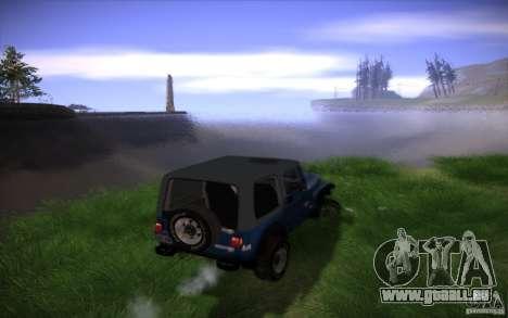 Mes paramètres ENB v2 pour GTA San Andreas septième écran