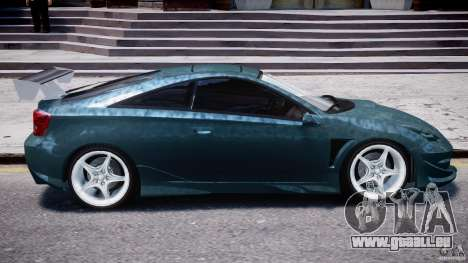 Toyota Celica Tuned 2001 v1.0 für GTA 4 Unteransicht