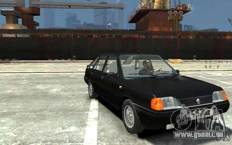 FSO Polonez Caro 1.4 16V für GTA 4 Rückansicht