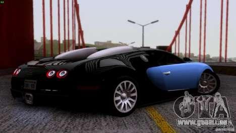 Bugatti Veyron 16.4 für GTA San Andreas linke Ansicht