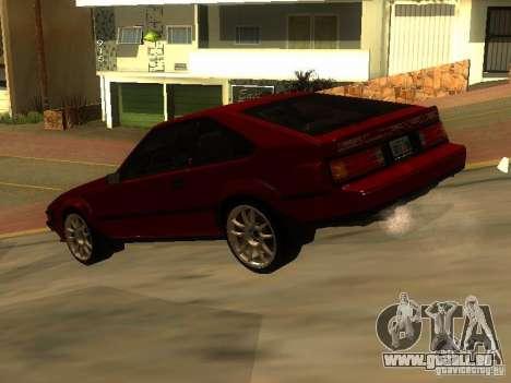 Toyota Celica Supra pour GTA San Andreas laissé vue