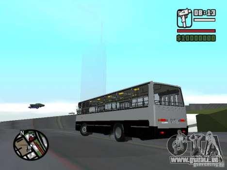 Ikarus 260.06 pour GTA San Andreas laissé vue