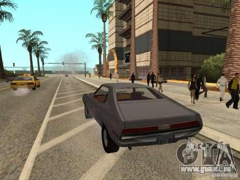 AMC Javelin 1970 pour GTA San Andreas laissé vue