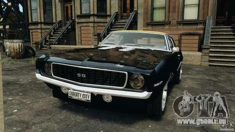 Chevrolet Camaro SS 350 1969 pour GTA 4
