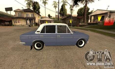 VAZ 2106 alten v2. 0 für GTA San Andreas Unteransicht