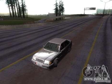 Mercedes-Benz E500 W124 pour GTA San Andreas vue de droite