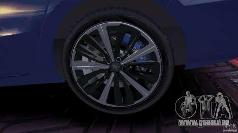 Peugeot 508 Final pour GTA 4 Vue arrière