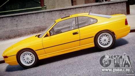 BMW 850i E31 1989-1994 pour GTA 4 est une gauche