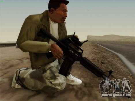 Colt Commando Aimpoint pour GTA San Andreas deuxième écran