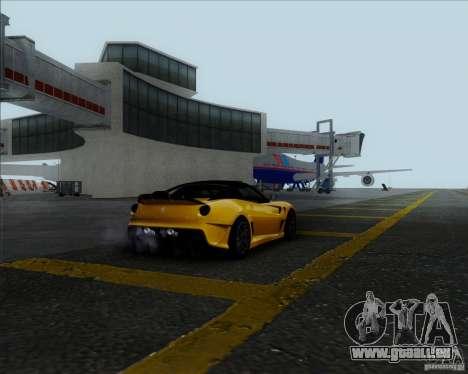 Ferrari Challenge-2009 599XX pour GTA San Andreas sur la vue arrière gauche