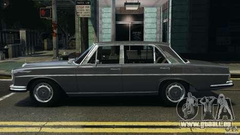 Mercedes-Benz 300Sel 1971 v1.0 pour GTA 4 est une gauche