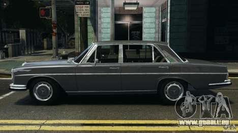 Mercedes-Benz 300Sel 1971 v1.0 für GTA 4 linke Ansicht