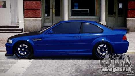 BMW M3 E46 Tuning 2001 für GTA 4 linke Ansicht