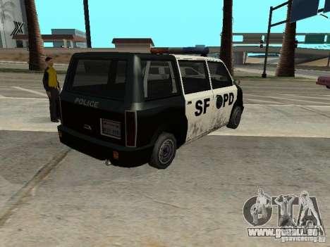 Moonbeam Police pour GTA San Andreas laissé vue