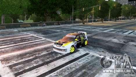 Subaru Impreza WRX STI Rallycross Monster Energy pour GTA 4