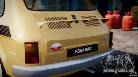 Fiat 126p 1976 pour GTA 4