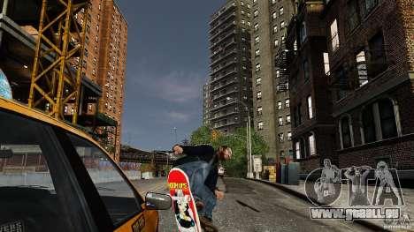 Skateboard # 3 für GTA 4 rechte Ansicht
