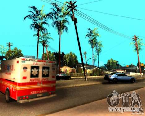 ENB For medium PC pour GTA San Andreas huitième écran