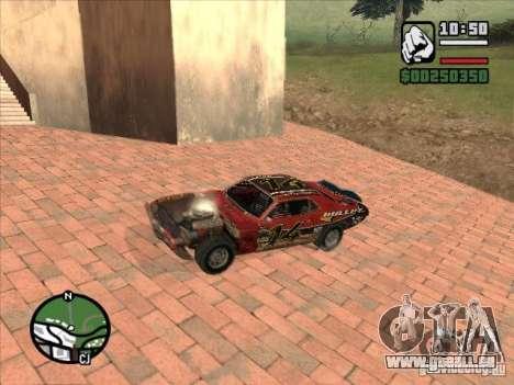 FlatOut bullet pour GTA San Andreas vue arrière