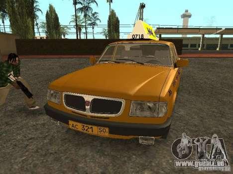 GAZ 3110 Taxi pour GTA San Andreas