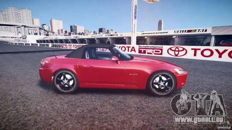 Honda S2000 2002 v2 de recuit pour GTA 4 est une gauche