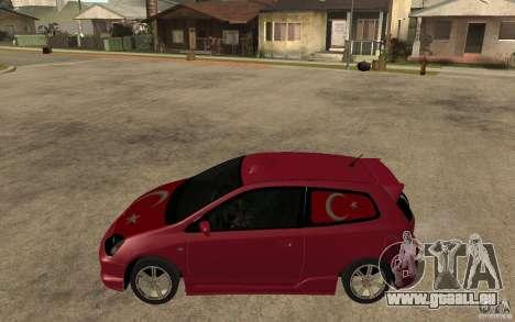 Honda Civic Type R für GTA San Andreas linke Ansicht