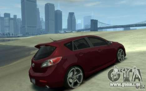 Mazda 3 MPS 2010 pour GTA 4 est un droit