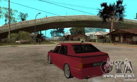 Alfa Romeo 75 Drifting für GTA San Andreas zurück linke Ansicht