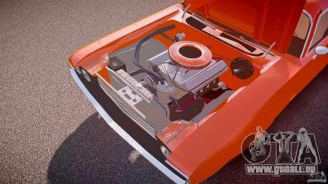 Dodge Challenger v1.0 1970 pour GTA 4 est une vue de dessous
