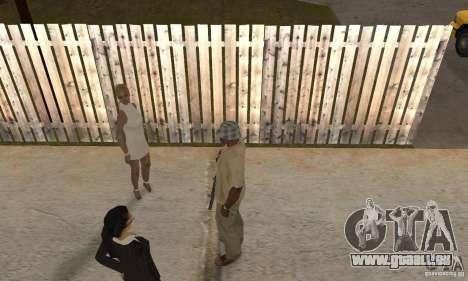 Hypnose dans San Andreas pour GTA San Andreas cinquième écran