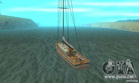 Marquis HD pour GTA San Andreas sur la vue arrière gauche