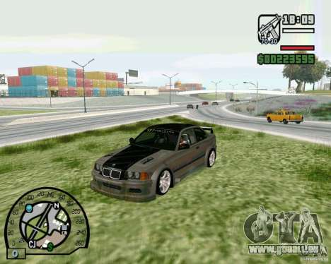 BMW E36 Wide Body Drift für GTA San Andreas