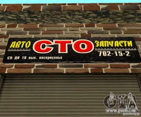New Transfender: CTO pour GTA San Andreas quatrième écran