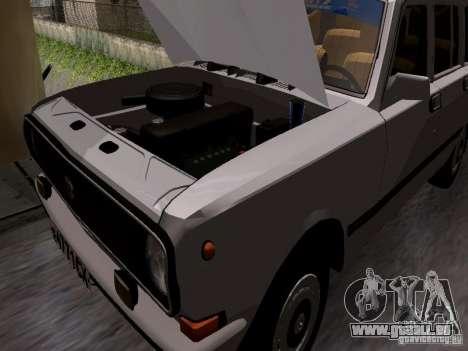 GAZ 24-12 SL Volga pour GTA San Andreas vue de côté